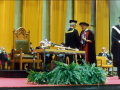 Bill Honorary Doctorate Waterloo 1987
