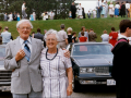 Bill & Dorothea after Doctorate Ceremony 1987