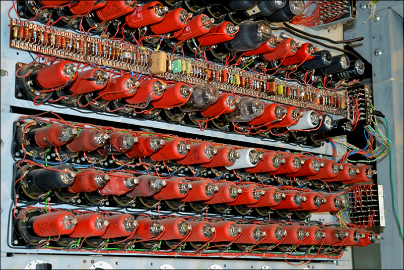 Some valves on the Colossus rebuild at TNMOC
