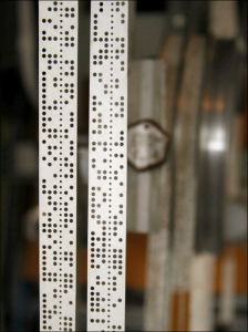 Punched Paper Tape on Colossus